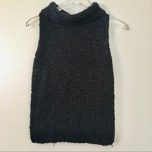 Express Chunky Knit Sleeveless Sweater